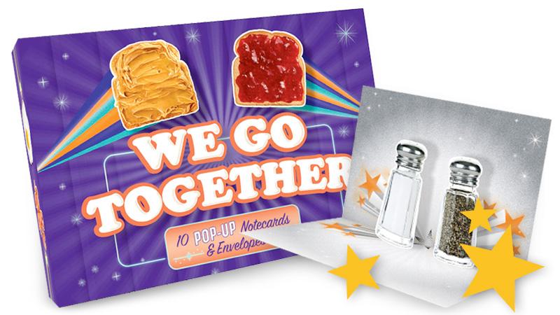 we go together pop-up cards