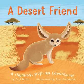 A desert Friend pop-up book Eryl Nash
