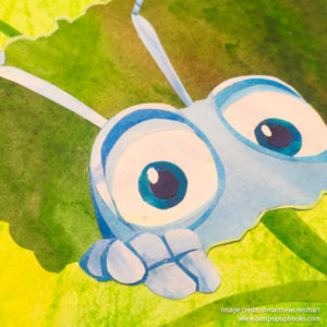 Pixar Pop-up Book Artwork - Bugs Life