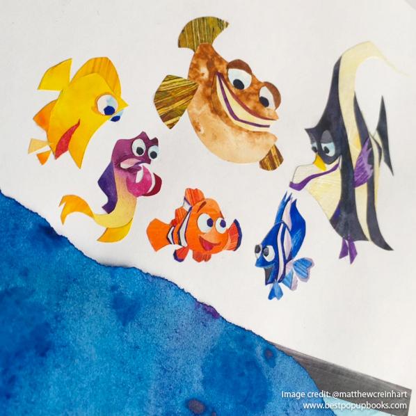 Pixar Pop-up Book Artwork Gallery - Best Pop-up Books