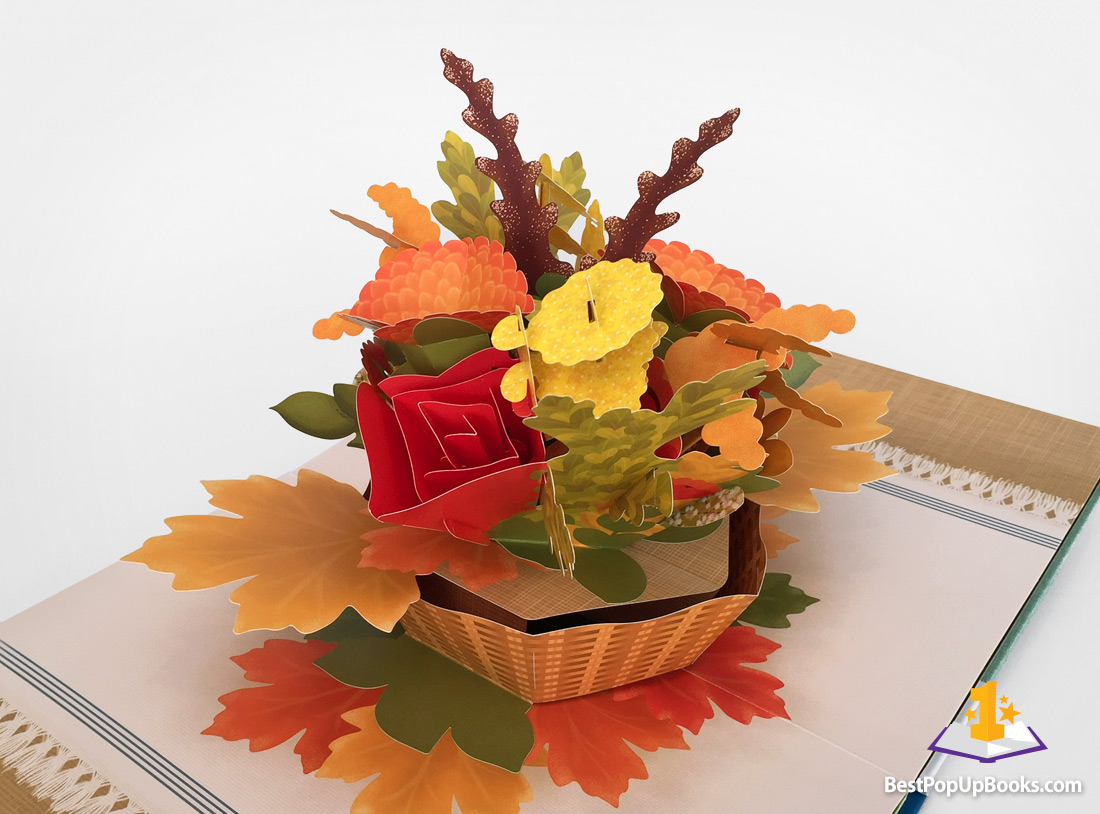 Paper Blossoms For All Seasons Pop-Up Book