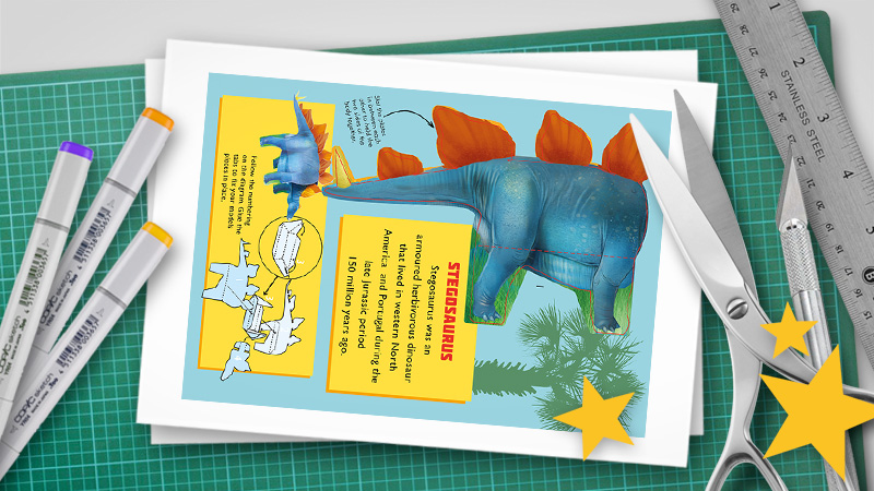 How to make a pop-up: Print-ready PDF pop-up templates