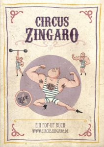 circus zingaro pop-up book