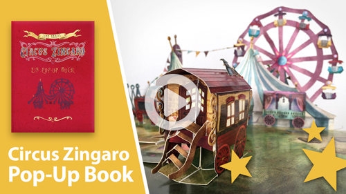 Circus Zingaro: A Pop-up Book