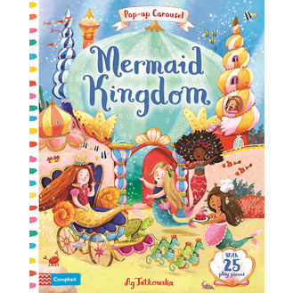 Mermaid Kingdom pop-up book