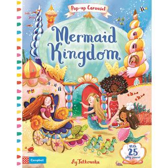 Mermaid Kingdom pop-up book