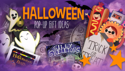 Halloween pop-up books gift-ideas