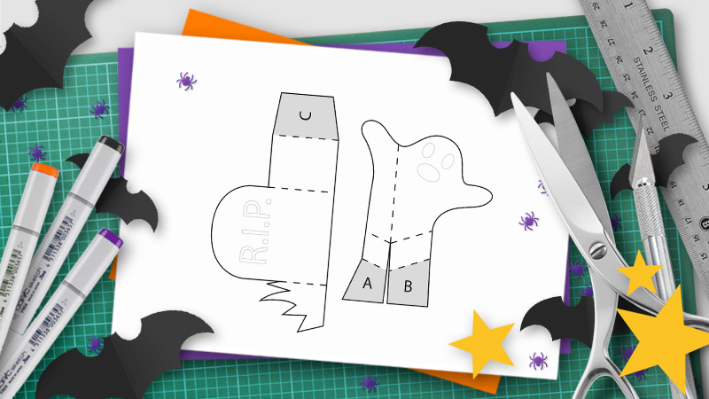 DIY Halloween Pop-Up Templates and Tutorials - Do It