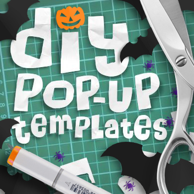 DIY pop-up templates