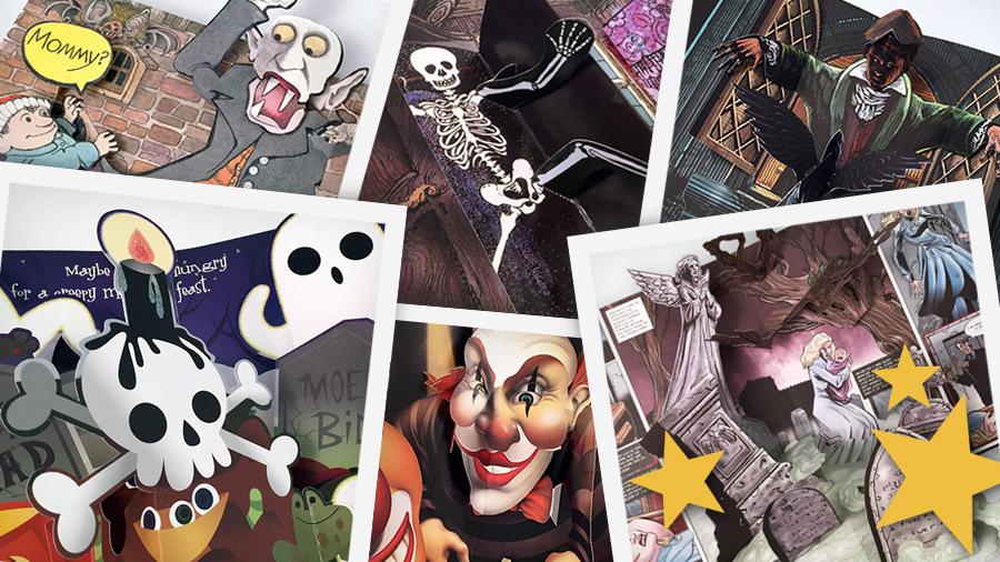 halloween pop-up book