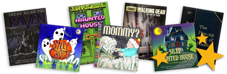 halloween pop-up books