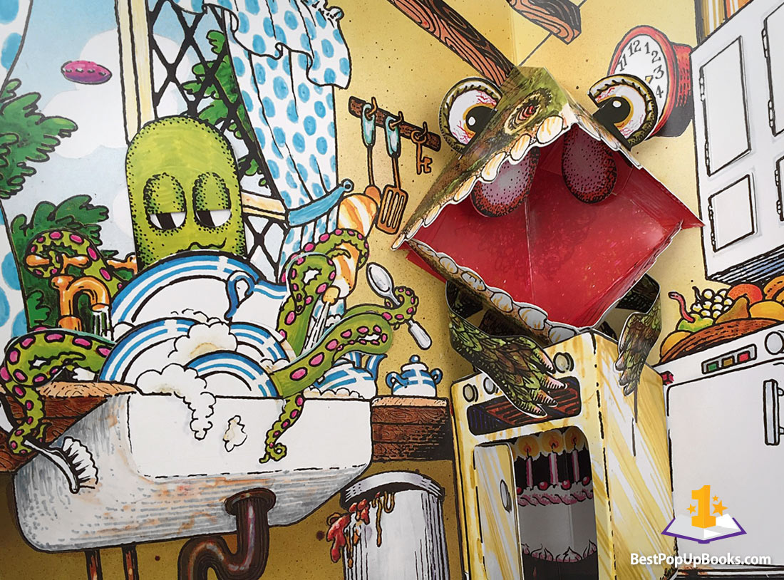 Haunted House Pop-Up Book by Jan Pieńkowski