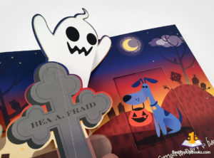 silly ghosts pop-up book
