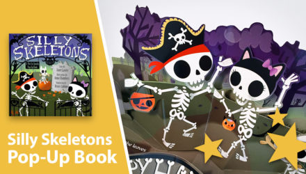 Silly Skeletons: A Not-So-Spooky Pop-Up Book