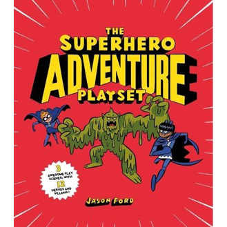 The Superhero Adventure Playset