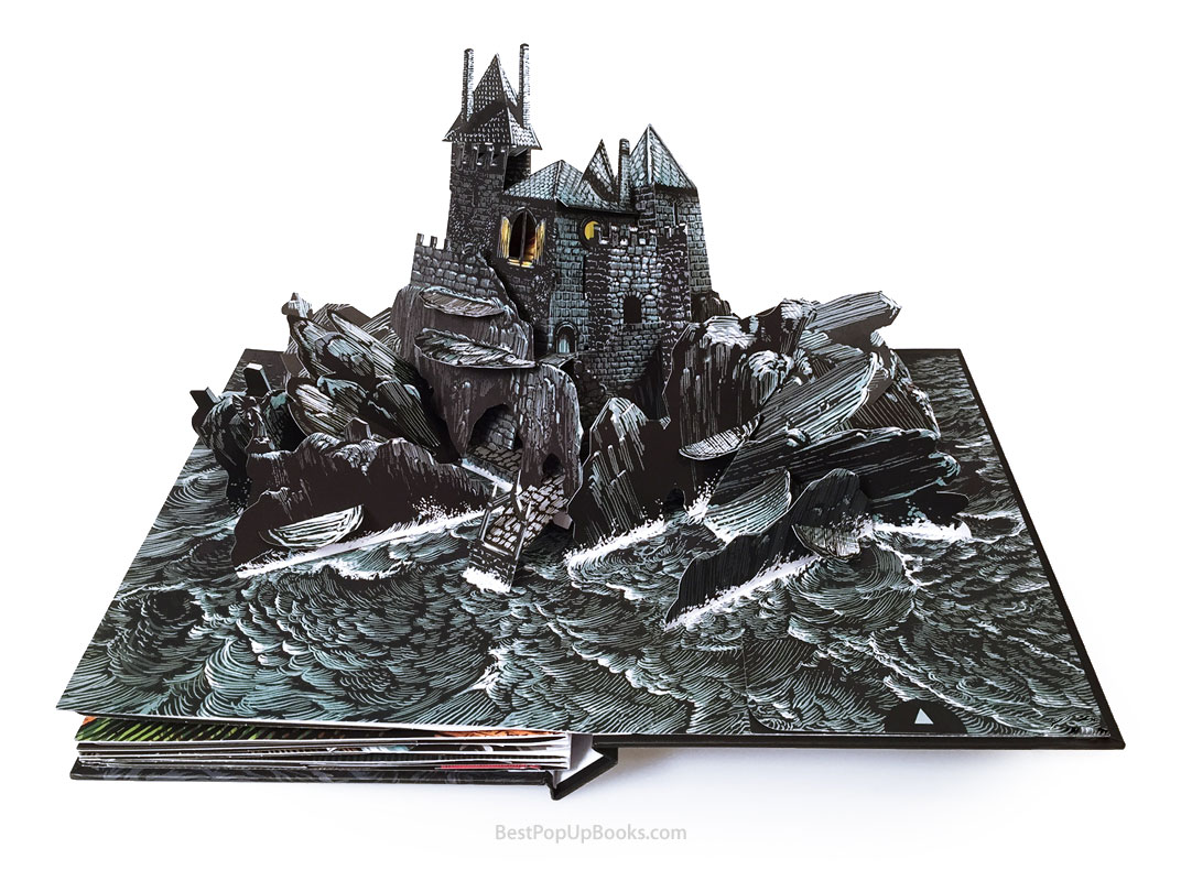 The Raven Pop-up Book by David Pelham