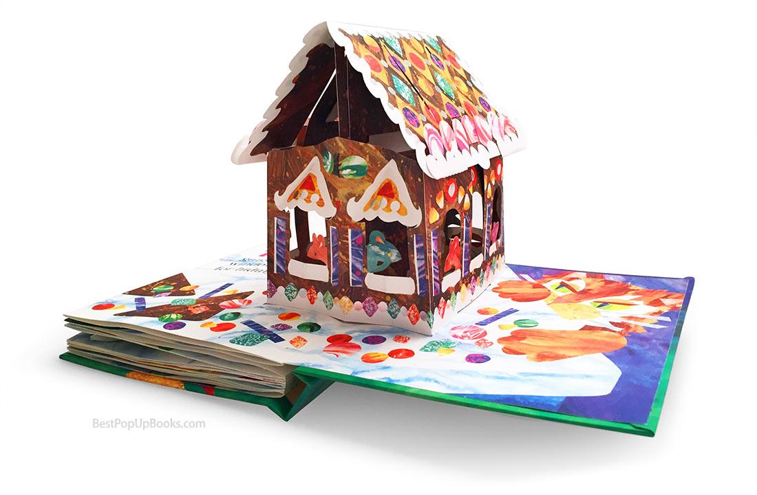 cookie count pop up book gingerbread house best pop up books. Black Bedroom Furniture Sets. Home Design Ideas