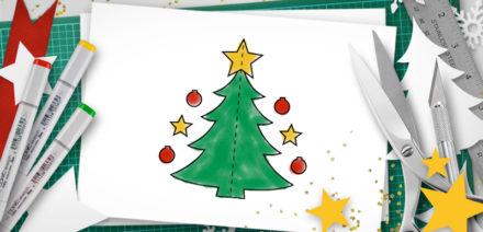 diy christmas pop-up