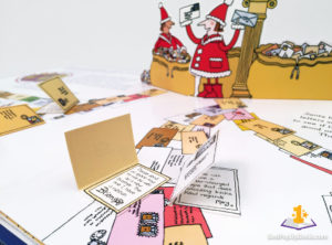 How Santa Really Works Pop-Up Book