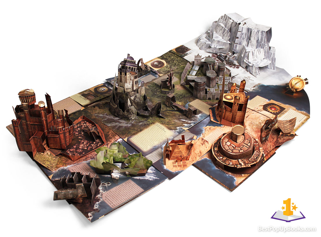 The upcoming World of Warcraft pop-up book created by