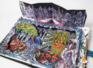 Skinners Necronomicon Pop-Up Book