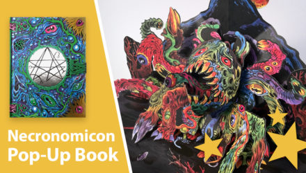 Skinners Necronomicon Pop-Up Book