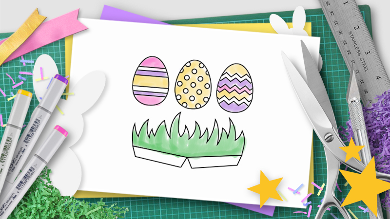 easter pop-up template
