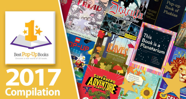 Best pop-up books of 2017 review compilation