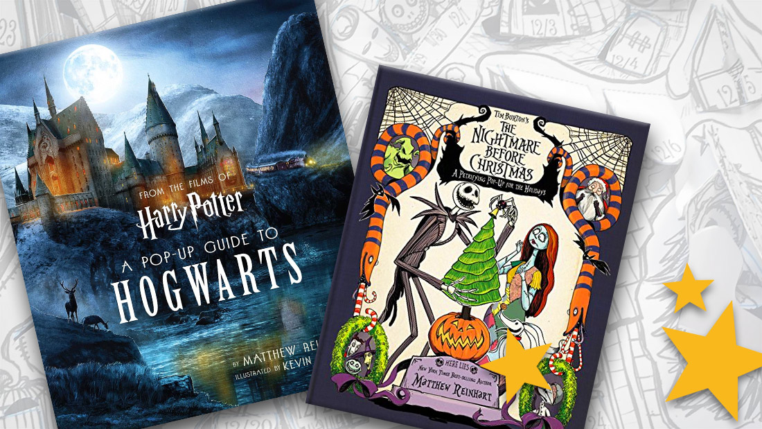 Sneak Peek The Nightmare Before Christmas Harry Potter Pop Up Books