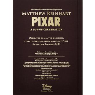 pixar pop-up book