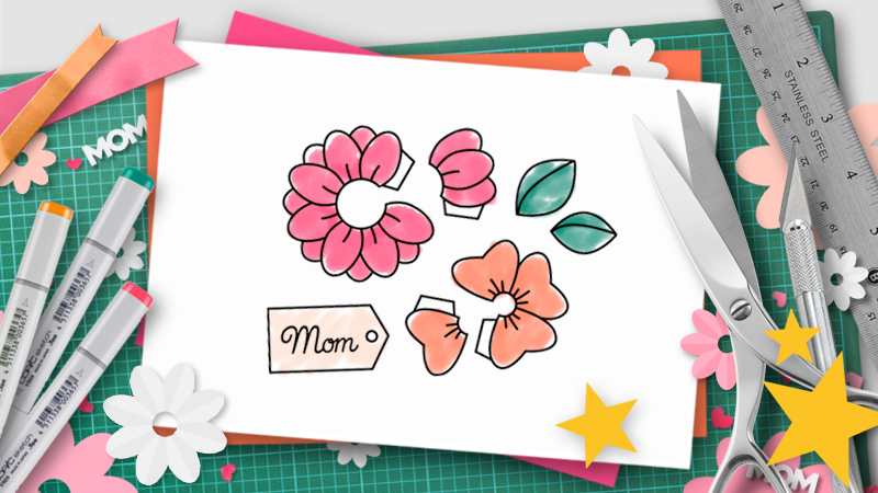 Mothers Day pop-up templates