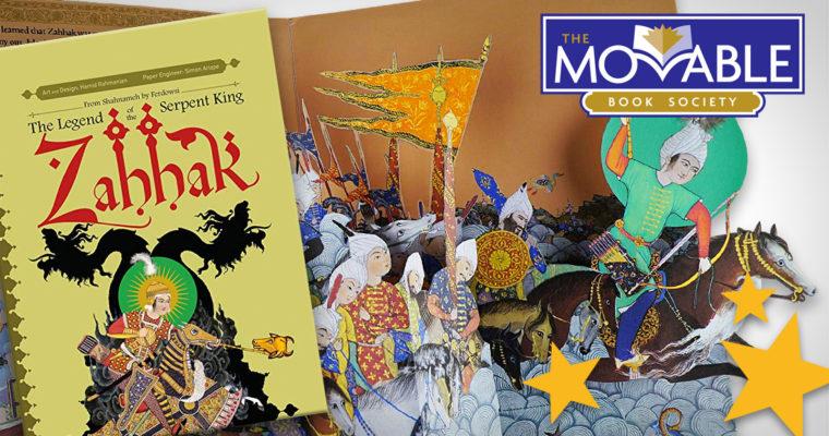 Zahhak pop-up book Meggendorfer prize Simon Arizpe