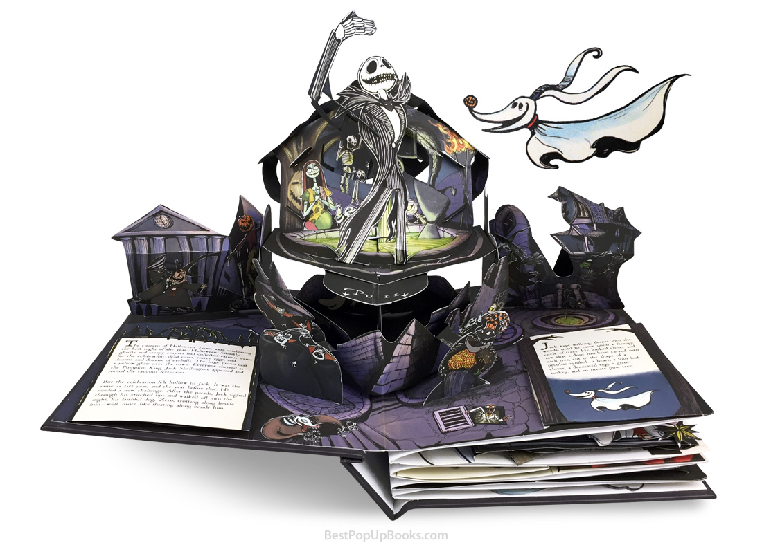 The Nightmare Before Christmas pop-up book