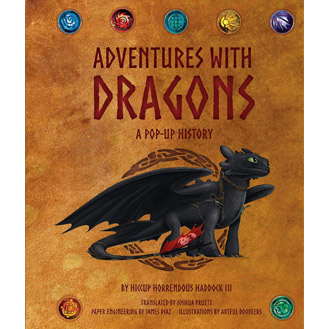 Dragons Pop-Up Book