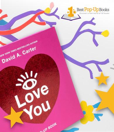 I Love You Pop-Up Book