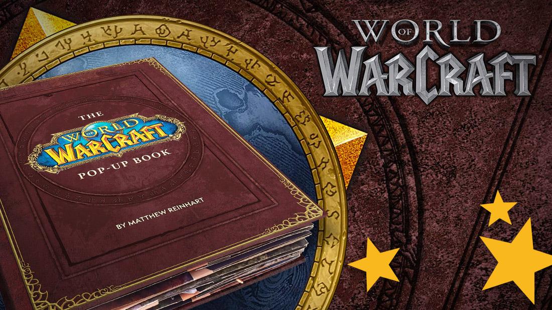 The upcoming World of Warcraft pop-up book created by Matthew Reinhart