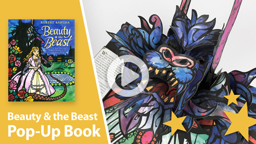 Beauty and the Beast pop-up book