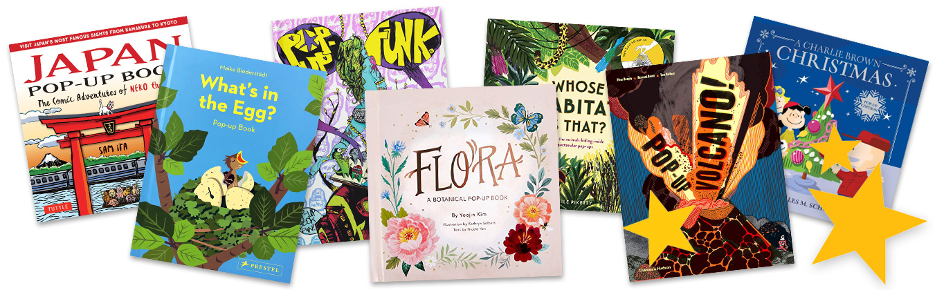 Upcoming Pop-Up Books 2018/19