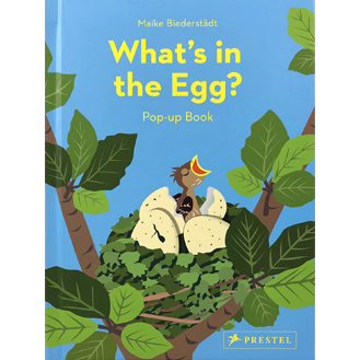 What's in the Egg Pop-Up Book
