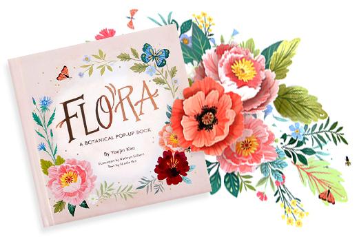Flora Pop-Up Book