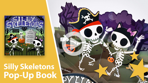 Silly Skeletons Pop-Up Book