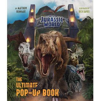 Jurassic World Pop-Up Book by Matthew Reinhart