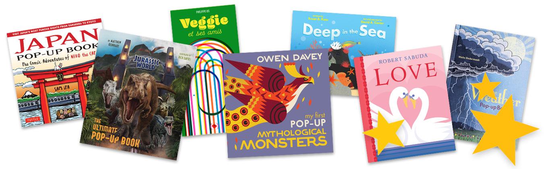 new pop-up books